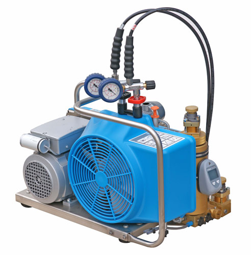 Bauer Breathing Air Compressor Oceanus