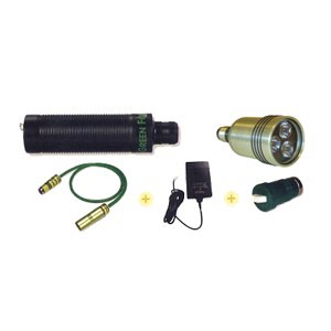 Green Force Tauchlampen FLEXI KIT HID 150