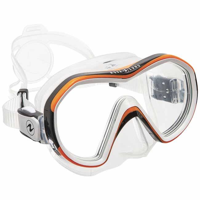 UK Lampenhalter für Taucherbrille Zubehör blau-transparent